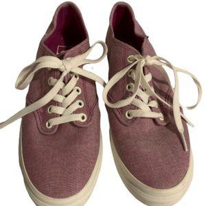 New Vans canvas lace up shoes